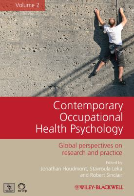 Contemporary Occupational Health Psychology book jacket