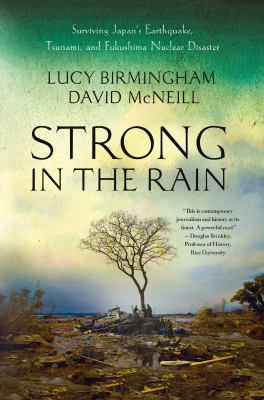 Book cover for Strong in the rain.