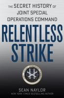 Cover of Relentless Strike