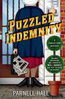 Puzzled Indemnity : A Puzzle Lady Mystery by Hall, Parnell © 2015 (Added: 1/20/15)