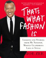 Cover of That's What Fashion Is