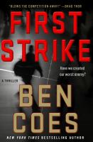 Cover art for First Strike