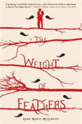 cover of The weight of feathers