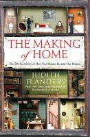 Cover of the Making of Home