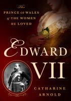 Cover art for Edward VII