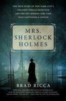 Cover art for Mrs. Sherlock Holmes