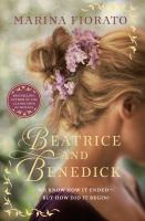 Cover art for Beatrice and Benedick