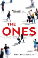 Cover Art for The Ones