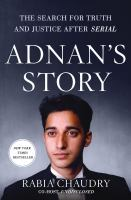 Cover art for Adnan's Story