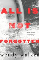 Cover art for All is Not Forgotten
