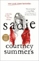 Sadie by Courtney Summers (book cover)