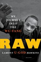 Book cover of Raw: My Journey into the Wu-Tang
