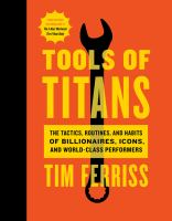 Cover art for Tools of Titans