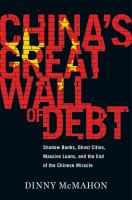 Cover art for China's Great Wall of Debt