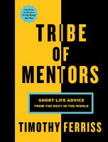Cover art for Tribe of Mentors