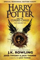 Cover art for Harry Potter and the Cursed Child
