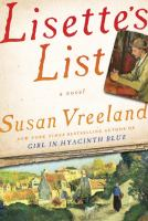 Book cover: Lisette's List