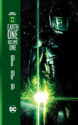 cover art for green lantern earth one