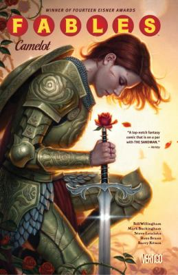 cover of Fables 20: Camelot