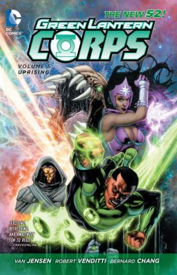 cover of Green Lantern Corps 5