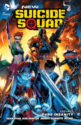 cover of New Suicide Squad 1: Pure Insanity