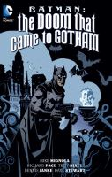 Cover art for Batman: The Doom that Came to Gotham