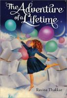 Book cover: The Adventure of a Lifetime