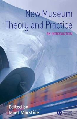 book cover for New museum theory and practice