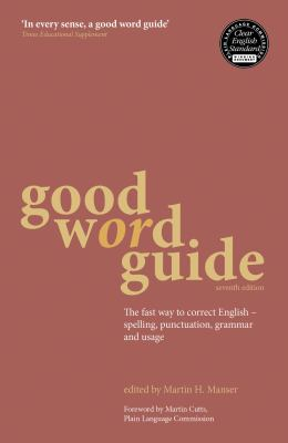 Good Word Guide Cover