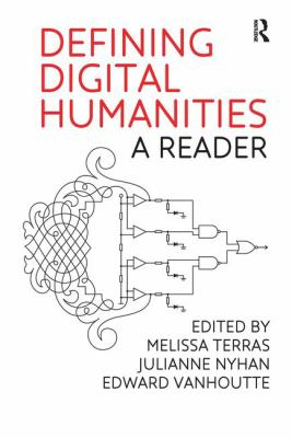 Book cover of Defining Digital Humanities