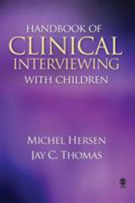 Book jacket for Handbook of Clinical Interviewing with Children
