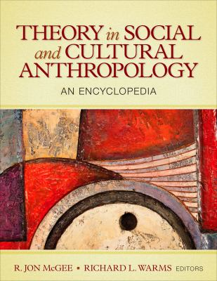 Book jacket for Theory in Social and Cultural Anthropology