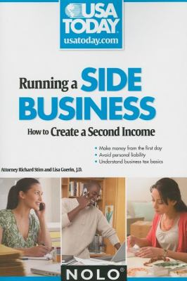 Details about Running a side business : how to create a second income