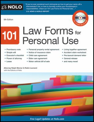 Click on the image to see other BCPL materials  which provide legal forms