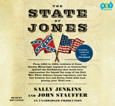 cover photo: The State Of Jones