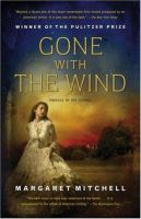 Cover art for Gone with the Wind