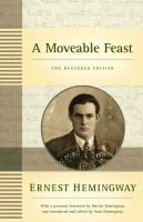 Cover art for A Moveable Feast