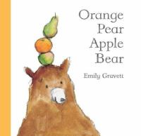 cover of Orange Pear Apple Bear