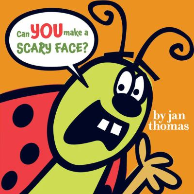 Book Cover: Can you make a scary face?