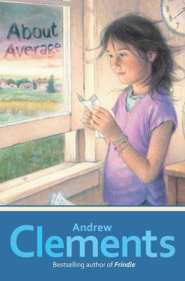 Cover image of About Average by Andrew Clements