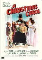 A Christmas Carol (movie cover)
