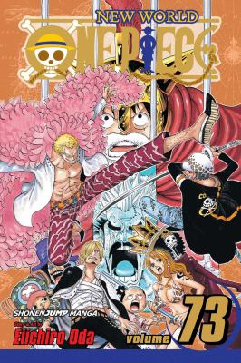 cover of One Piece 73