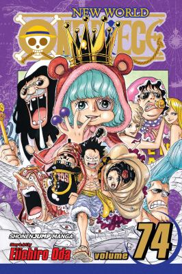 cover of One Piece 74