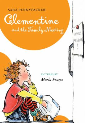 Cover image for Clementine and the family meeting
