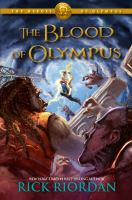 Book cover: The Blood of Olympus by Rick Riordan