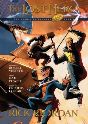 cover of The Heroes of Olympus 1: The Lost Hero