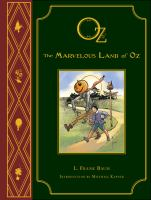 Cover art for The Marvelous Land of Oz