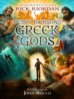 Book cover: Percy Jackson's Greek Gods by Rick Riordan
