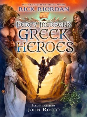 cover of Percy Jackson's Greek Heroes