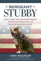 Cover art for Sergeant Stubby